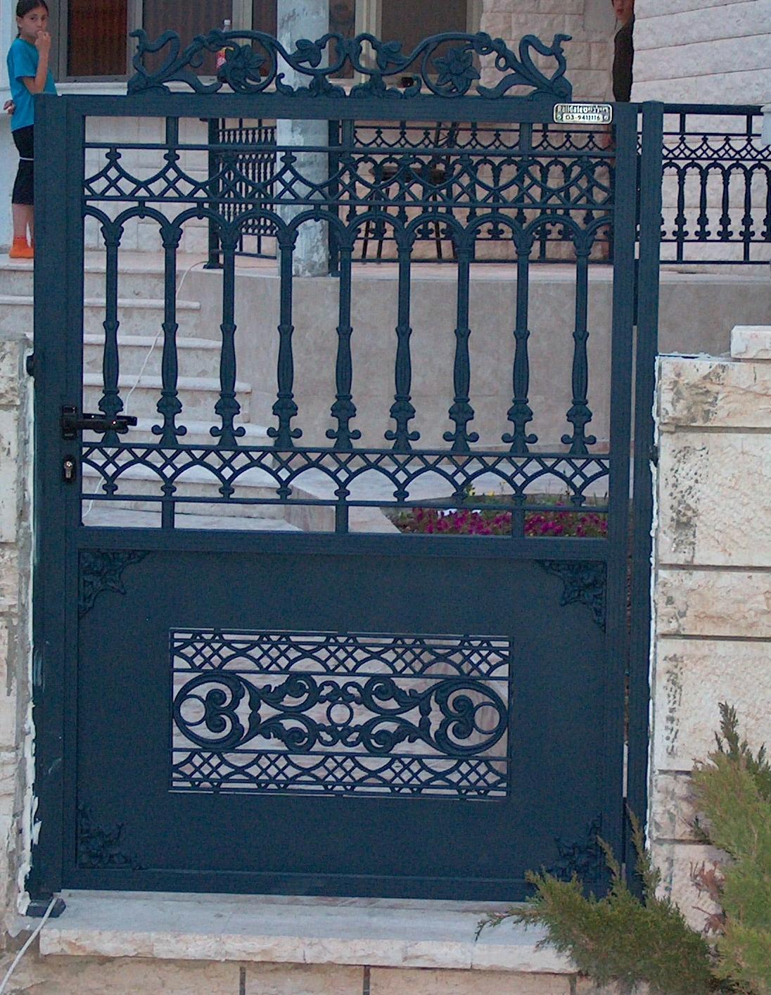 שער כניסה מעוצב