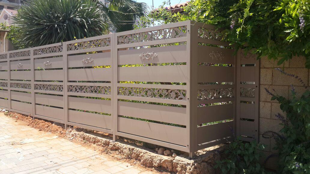 גדר ושער דגם יציקות אלומניום 3 - שערים וגדרות
