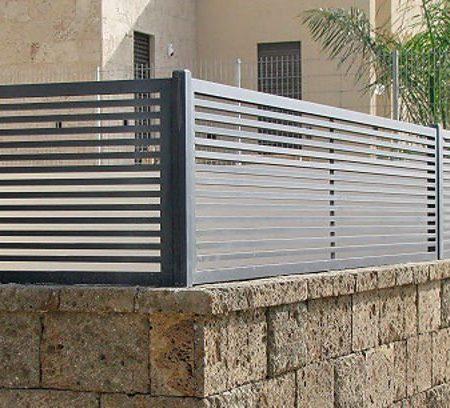 מודרניסטית גדרות לגינה מחירים | גדרות לגינה | ריילגייט | שערים וגדרות GG-85